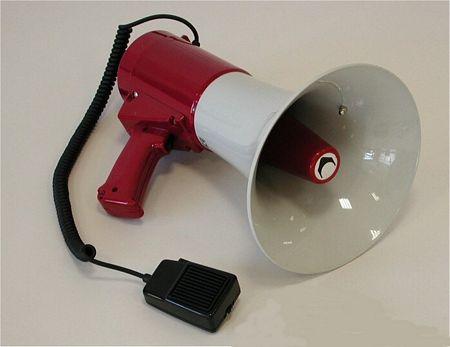 Megafono 25 Watt