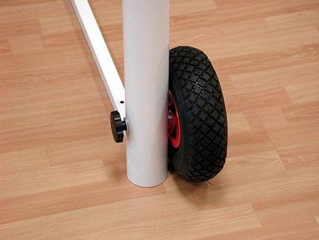 Ruote per prorte da calcetto trasportabili
