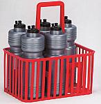 Cestello per bottiglie da campo