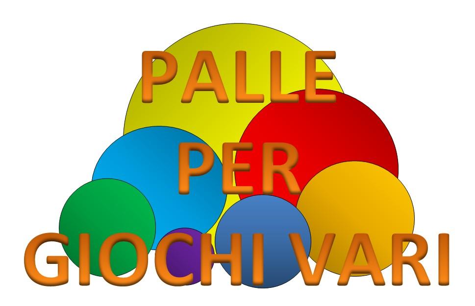 PALLE PER GIOCHI VARI