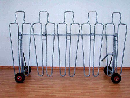 Barriera per calci di punizione regolabile in acciaio zincato