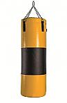 SACCO BOXE IN PVC CON FASCIA CUOIO PESO KG 50