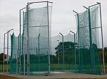 GABBIA PER IL LANCIO DEL DISCO  MOD. FISSO A NORME IAAF 2005