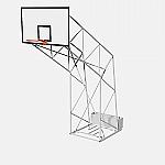 Impianto basket standard mobile da esterno