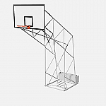 Impianto basket standard mobile da interno