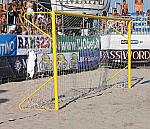 PORTE PER BEACH SOCCER TRASPORTABILI IN ALLUMINIO